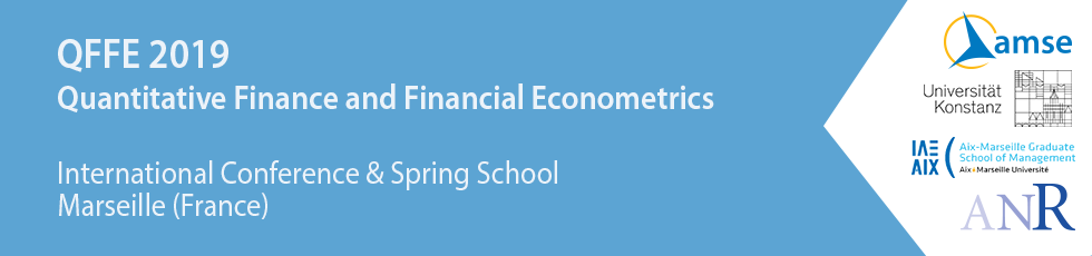 Quantitative Finance and Financial Econometrics - QFFE 2019